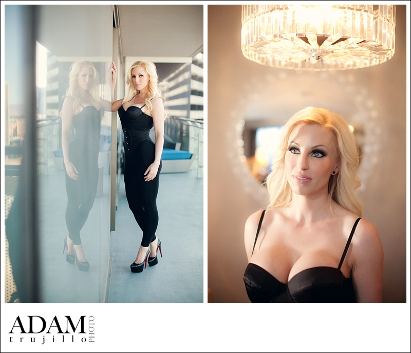 Boudoir Photography Las Vegas Pin Up 003 Ms. D | Boudoir Portraits inside Cosmopolitan Hotel Las Vegas.