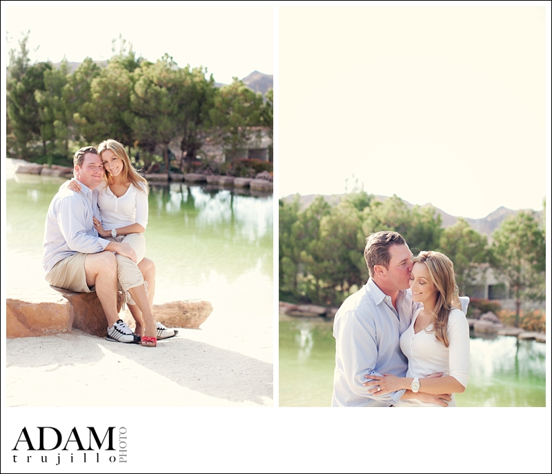 Murphy Engagement Photography Session In Lake Las Vegas