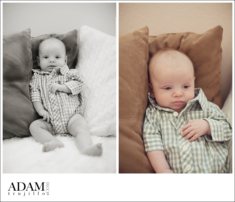 Las Vegas Photographer Newborn 002 Leonardos three month old baby portraits, Las Vegas, NV.