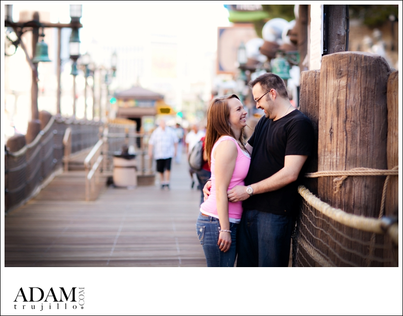 Las Vegas Photographer Engagement KR 001 Kristin and Rob | Destination Engagement Session in Las Vegas, NV on the Strip!