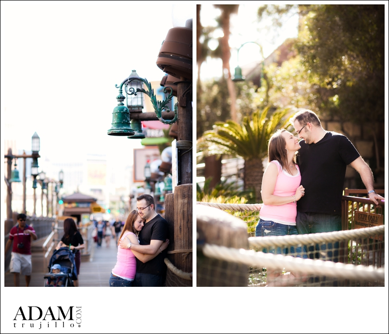 Las Vegas Photographer Engagement KR 002 Kristin and Rob | Destination Engagement Session in Las Vegas, NV on the Strip!