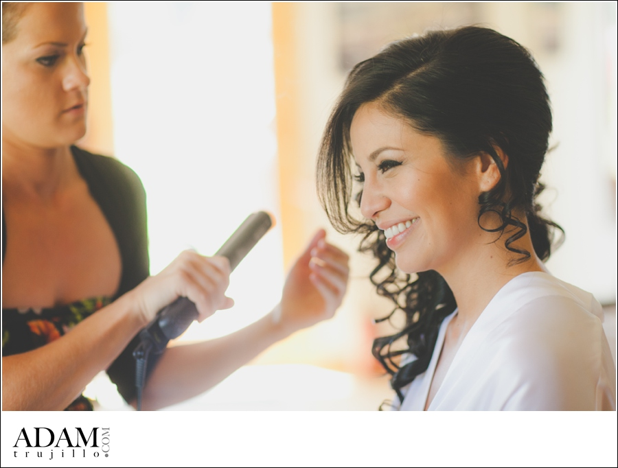 Portland Wedding Photographer, Makeup getting ready pictures.
