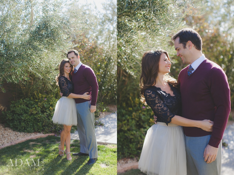 Las Vegas Holiday Portraits, Las Vegas Engagement Pictures
