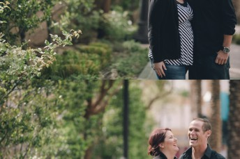 Downtown Fremont Las Vegas Engagement Photography
