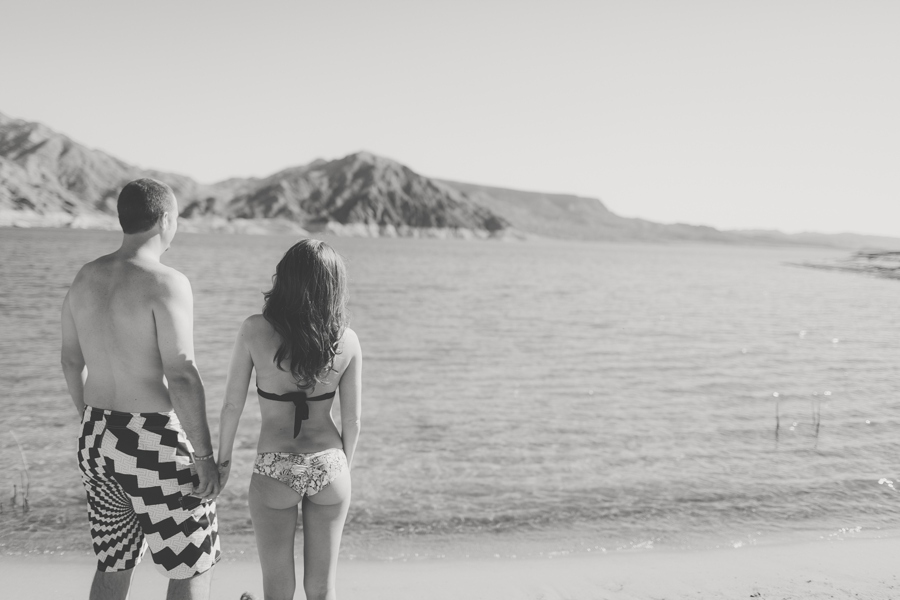 Lake Mead Las Vegas Engagement Photographer