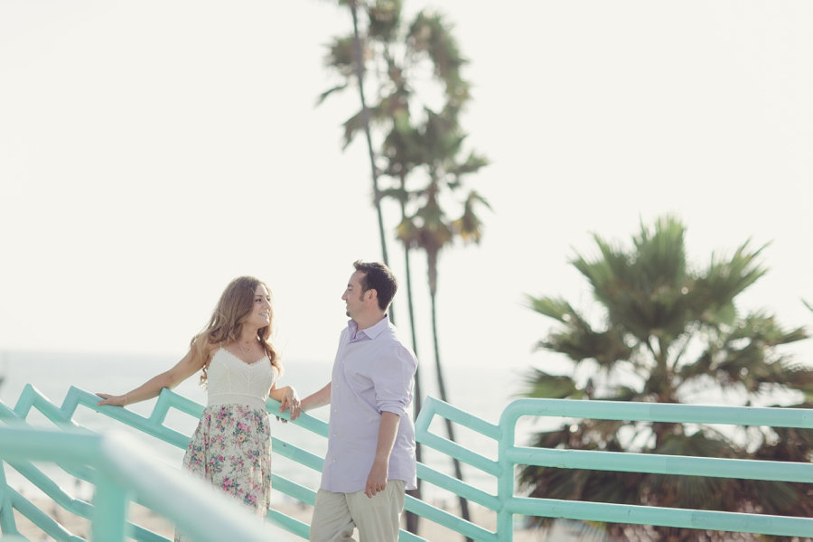 Manhattan Beach California Engagement Pictures