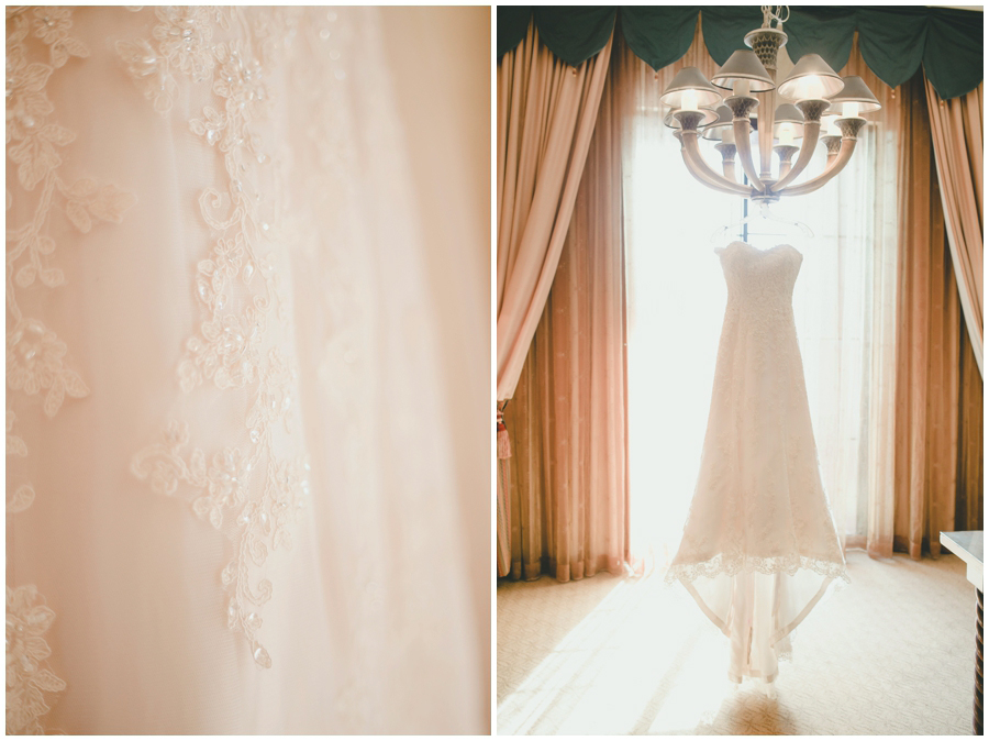 Las Vegas Wedding Photography.  Bridal Gown photo at the Westin.