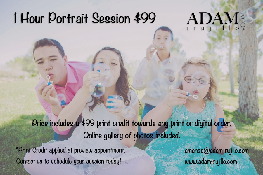 Las Vegas Family Portrait Pricing